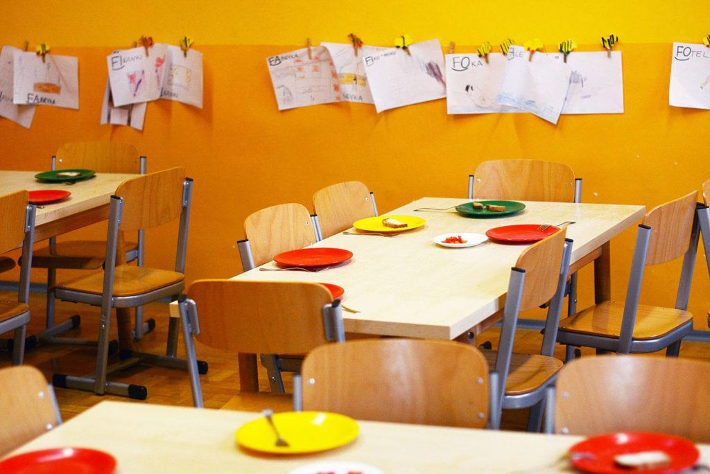 comedores de centros educativos